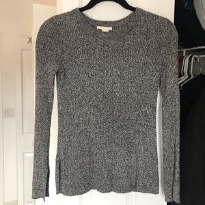 H&M heather-grey sweater - like new!